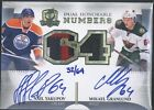 2013-14 The Cup NAIL YAKUPOV MIKAEL GRANLUND daul patch autograph auto 32 64