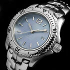 TAG HEUER LINK PERLMUTT DIVER MOTHER OF PEARL SAPPHIRE WR-200M DAMEN UHR WT131G