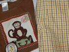 Janie and Jack Boys 2T 3T World Traveler MONKEY Shirt Pineapple Shorts