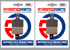 Front & Rear Brake Pads for Tomos MC 50 Senior Pro 05-07