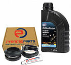 Fork Seals Dust seals & 1L Oil for MUZ 494 500 R 1990
