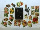 1910 Antique German Autographed Personal Hand Written Poem Book with Die Cuts