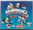 Animaniacs 1995 Topps Factory Sealed Full Box of Trading Cards With 36 Packs