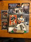 2000 Peyton Manning Starting Lineup Elite / 2014 Chrome Blue Wave /Base Cards