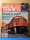 Classic Toy Trains 2005 January Marx tinplate passenger stations Trackwork Diese