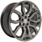 22x10 Wheels For Range Land Rover HSE LR3 LR4 Sport 22 Silver Rims Set of 4