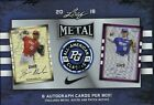 2018 Leaf Metal Perfect Game All-American Baseball Card Hobby Box = 8 Autos bx