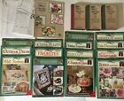DONNA DEWBERRY Plaid One Stroke Project Books Lot of 15 Folk Art Painting +3 VHS