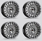 Drag DR 65 Wheels 15x75 4x100 +10 Chrome Rims For toyota Tercel Corolla Yaris