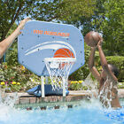 Poolmaster Pro Rebounder Poolside Basketball Net System Game with Ball