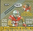 2019 SAGE HIT LOW SERIES FOOTBALL HOBBY BOX 12 AUTOS