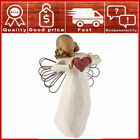 Willow Tree hand painted sculpted angel With Love Nativity Christmas Gift
