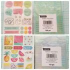Planner Stickers words chitchat Banners Create Crafts Summer Fruit Scrapbooking