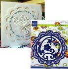 Large Circle Frame Metal Die Cuts Doily Scalloped Marianne Cutting Dies LR0112
