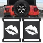 Taillight Covers Lip Rear Tail Light Lamp Guard for Jeep Wrangler JL 2018 2019
