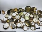 Vintage Elgin Waltham South Bend Rockford Baylor Mido HUGE Pocket Watch Lot 50+