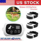 Wireless Pet Dog Fence Containment System Waterproof Shock Transmitter Collar