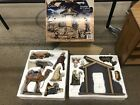 KIRKLAND SIGNATURE 13 Piece Hand Painted Ceramic Nativity Set NEW NICE SEE