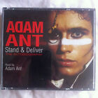 ADAM ANT - STAND AND DELIVER * SIGNED * RARE 4 DISC CD AUDIO BOOK Autobiography
