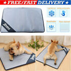 Self Cooling Gel Pet Mat For Floor Bed Crate Cool Dog Cushion Pad Indoor Outdoor