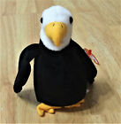 Ty Beanie babies retired Baldy Bald Eagle NO STAR on tush tag 96 typical errors