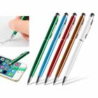 New Capacitive Stylus Touch Screen LCD 2in1 Ballpoint Pen for Tablet iPad iPhone