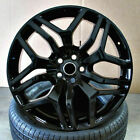 22 Wheels For Range Land Rover HSE Sport Charger LR3 22x95 Gloss Black 5x120