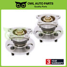 For Toyota Corolla Chevy Geo Prizm 2 Rear Wheel Hub Bearing Assembly 4Lug 512018