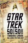 STAR TREK 50 ARTISTS 50 YEARS TRADING CARDS - 100 CARD FACTORY SET