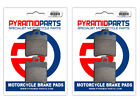 Front & Rear Brake Pads for Malaguti Phantom F12R 50 AC 07-11