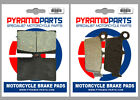 Front & Rear Brake Pads for TM Racing SMR 450 530 F es 05-09 SMX 660 F 2004