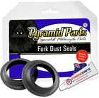 Fork Dust Seals for MUZ Saxon Sportstar 125 1993 on