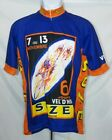 Retro Image Apparel Co Cycling Jersey Mens French Graphic Bicycle Tour de France