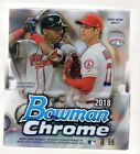 2018 BOWMAN CHROME HOBBY BOX 2 AUTO'S PER BOX
