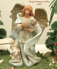 FONTANINI DEPOSE ITALY 5 CELIA GUARDIAN ANGEL OF ANIMALS NATIVITY VILLAGE MIB