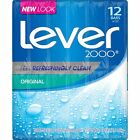 Lot 12 Pack Original Lever 2000 Bar Soap Original 4 oz. each