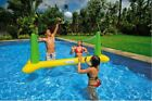Volleyball Pool Float Game Inflatable Floating Net Ball Water Swimming In Swim
