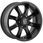 Panther Off Road 578 20x9 6x135 6x55 12 Flat Black Wheels4 20 inch Rims