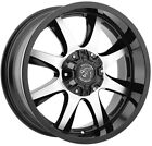 Panther Off Road 578 20x9 6x135 6x55 12 Black Machine Wheels4 20 inch Rims