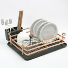 Dish Drying Rack Aluminum Kitchen Sink Drainers Holder Cutlery Rack Drainer Tray
