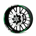 For Kawasaki Z650  #style 1 Rim Decal Stripes Sticker Fashion wheel protector###