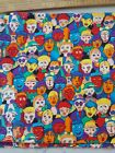 Cotton Fabric Multicolor All Kinds of People 1 1 4 Yards X 42 Wide New