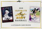 2018 LEAF ULTIMATE DRAFT SEALED HOBBY BASEBALL BOX