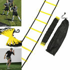 US 16 Rung Agility Speed Training Ladder Footwork Fitness Football Exercise
