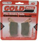 CCM CR 40 S CafeRacer Brake Disc Pads Rear R/H Goldfren 2007-2008