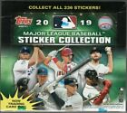 2019 TOPPS MLB STICKER COLLECTION SEALED BOX 50 PACKS 4 STICKERS PER PACK