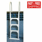 Swimming Pool Step Ladder Above Ground in Pool Deck Flanges Heavy Duty