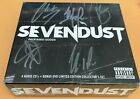Sevendust ~ Packaged Goods ~ CD DVD Box Set ~ Signed / Autographed ~ NEW Sealed