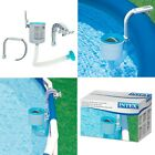 Best Pool Surface Skimmer Intex Deluxe Wall Mount Pool Cleaning Vacuum Equipment