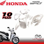 Set Fairings Plastic Frames Honda Sh 125 150 2005 2006 2007 2008 White Pearl